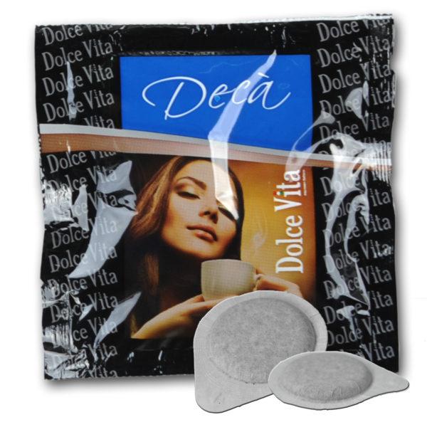 Décaféiné – Dolce Vita, dosettes ese 44mm