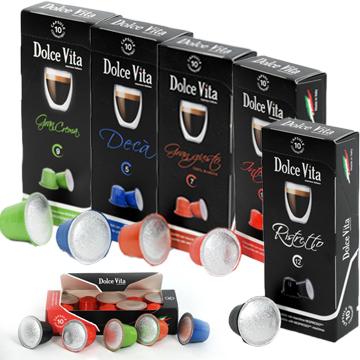 Dégustation  café Dolce Vita, compatible Nespresso®