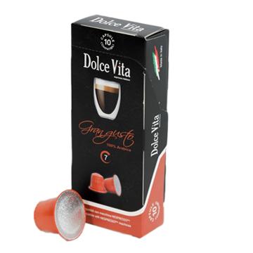 Gran Gusto – Dolce Vita, compatible Nespresso®