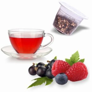 Tisane Fruits Rouges, capsules compatibles Nespresso