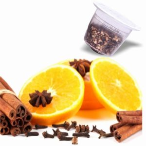 Tisane Orange et Cannelle, capsules compatibles Nespresso