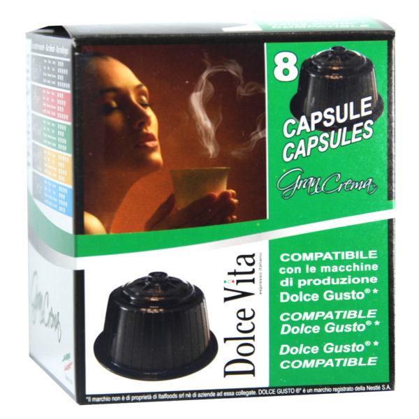 Gran Crema – Dolce Vita, compatible Dolce Gusto®