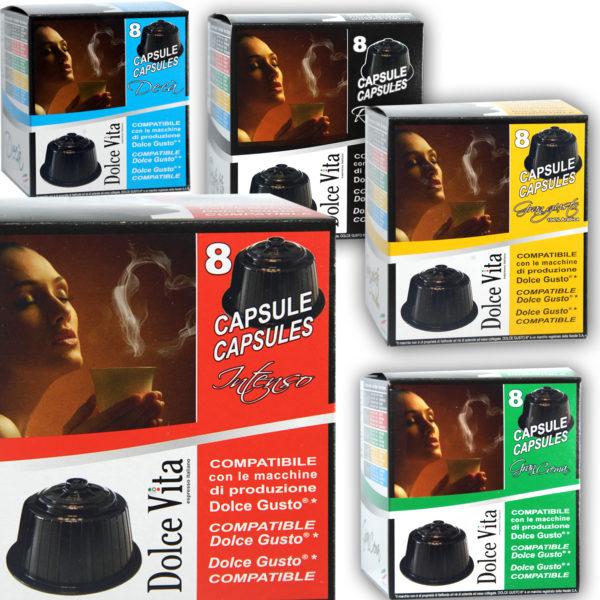 Dégustation 16×5 – Dolce Vita, compatible Dolce Gusto®