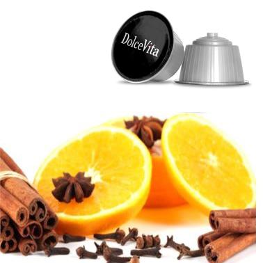 Tisane orange et cannelle – Dolce Vita, compatible Dolce Gusto®