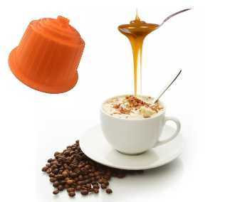Cappuccino Caramel – Dolce Vita, compatible Dolce Gusto®