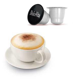 Gourmet Cappuccino Classique – Dolce Vita, compatible Nespresso®