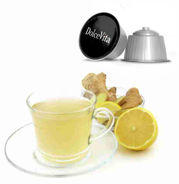 Thé zenzero et citron – Dolce Vita, compatible Dolce Gusto®