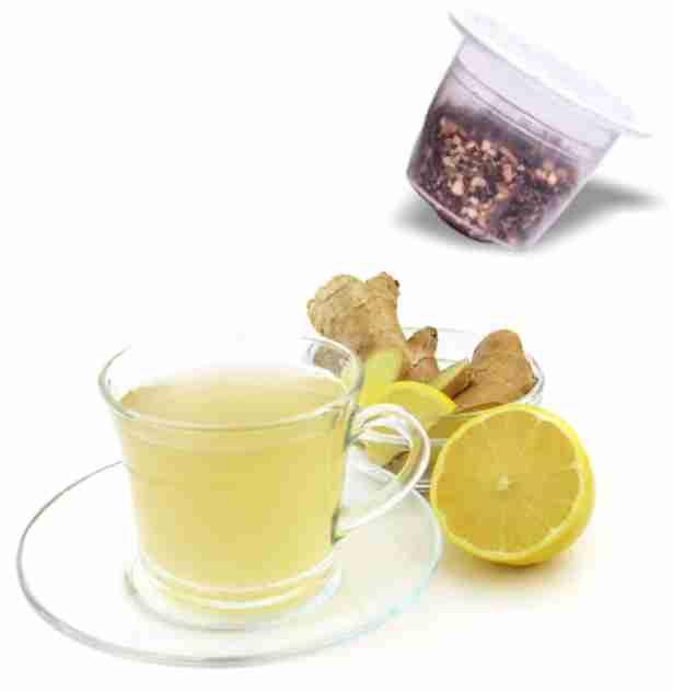 Thé zenzero et citron – Dolce Vita, compatible Nespresso®