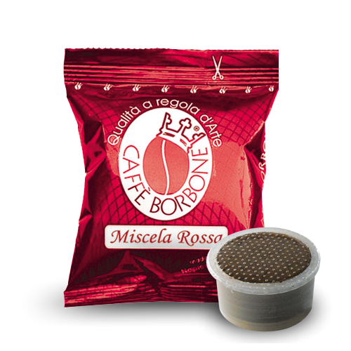 Rouge – Borbone, compatible Lavazza Point®